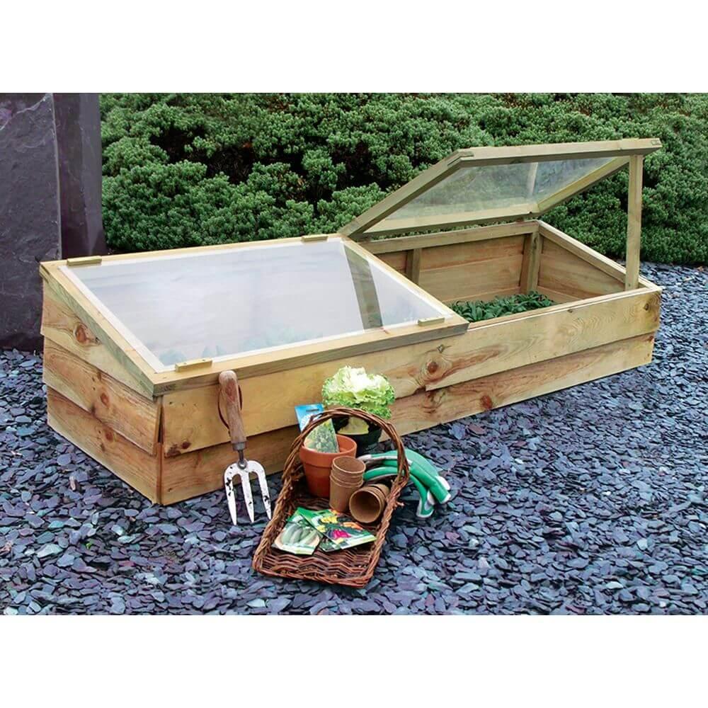 zest large cold frame garden store online. Black Bedroom Furniture Sets. Home Design Ideas
