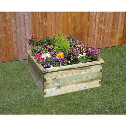 Zest Sleeper Raised Bed 90 x 90cm