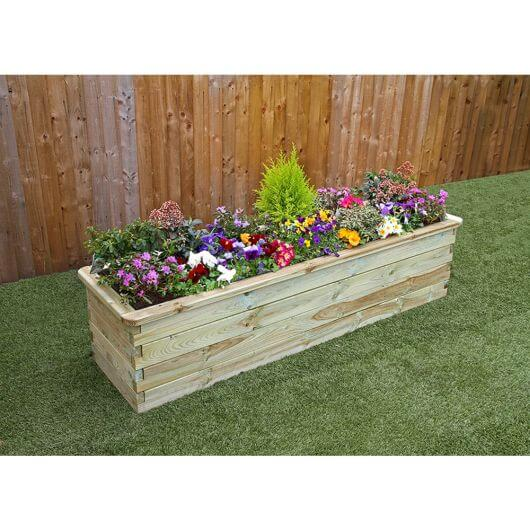 Zest Sleeper Raised Bed 180 x 45cm