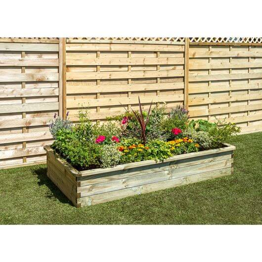 Zest Sleeper Raised Bed 180 x 90cm