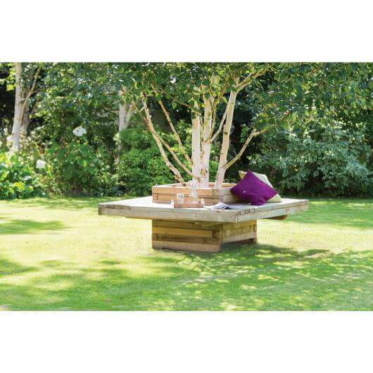 Zest Lucy Planter Bench