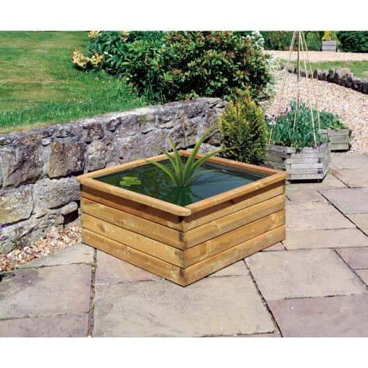 Zest Aquatic Planter Square 90 x 90cm