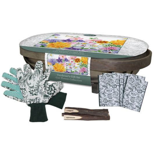 Bees Cut Flower Collection Trug
