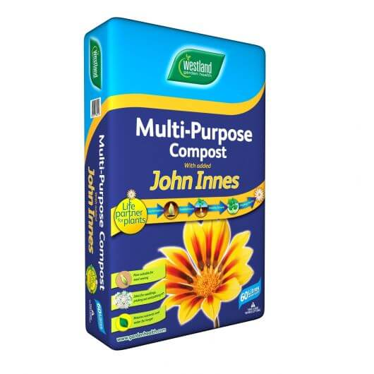 Westland Multipurpose Compost With John Innes 60L - 55 Bag Pallet Deal