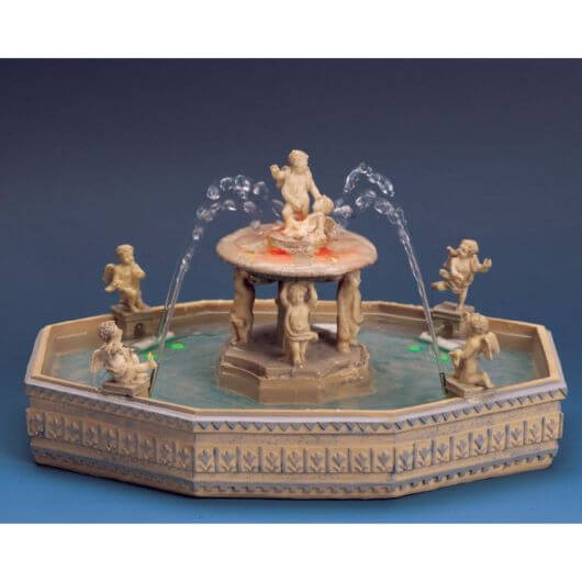 Lemax Lighted Village Square Fountain (14663)