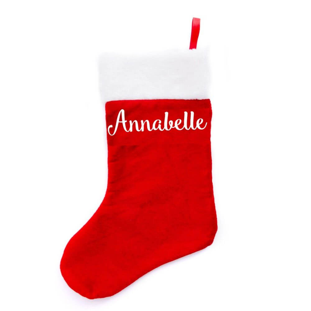 personalised christmas stocking annabelle - Annabelle Christmas