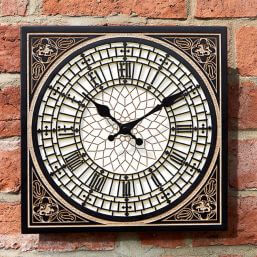 'Little' Ben Outdoor Wall Clock