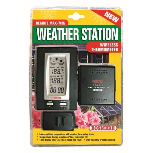 Wireless Max/Min Weather Station