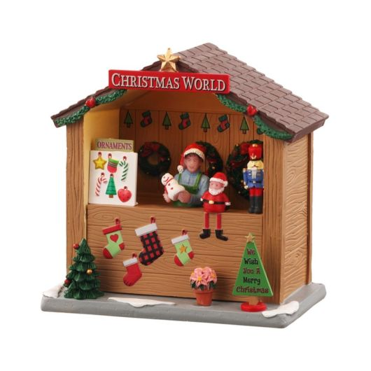 Lemax Christmas World Booth (04734)