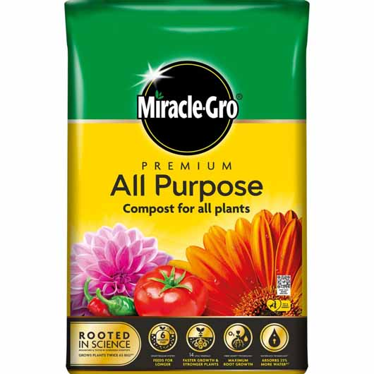 Miracle-Gro® Premium All Purpose Compost