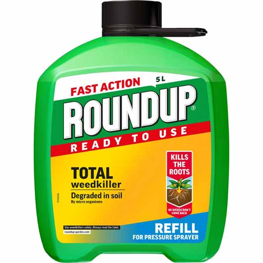 Roundup® Fast Action Ready to Use Weedkiller Pump 'n Go Refil 5L