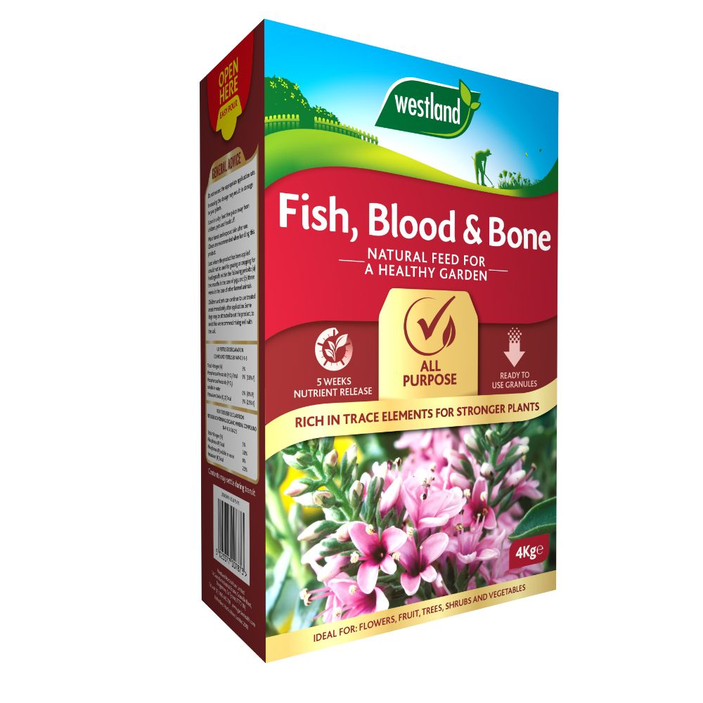 Westland Fish, Blood & Bone 4Kg
