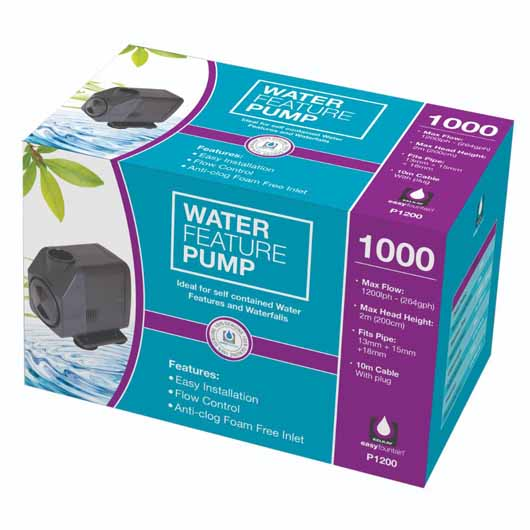 Water Feature Pump 1000