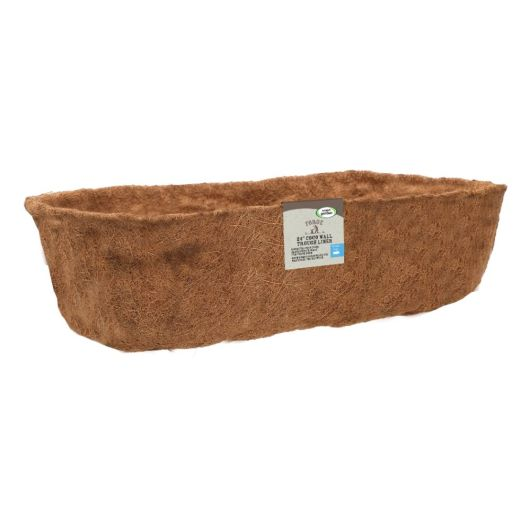 "Smart Garden 24"" Forge Trough Coco Liner"