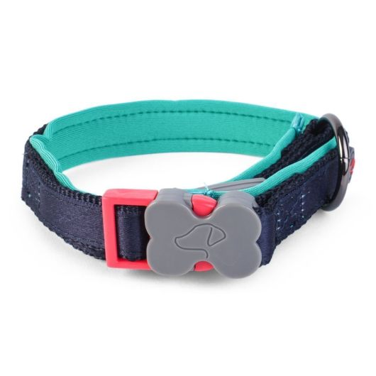 Zoon Uber-Activ Navy Padded Dog Collar - Small