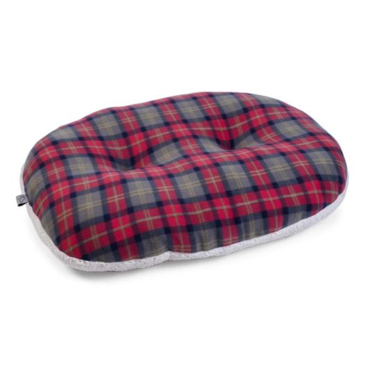 Zoon Check Oval Cushion - Small