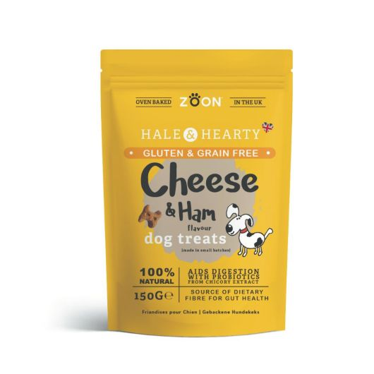 Zoon Hale & Hearty Ham & Cheese Flavour Dog Treats