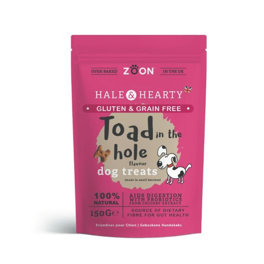 Zoon Hale & Hearty Toad In The Hole Flavour Dog Treats