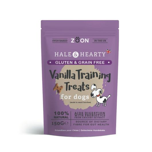 Zoon Hale & Hearty Vanilla Flavour Dog Treats