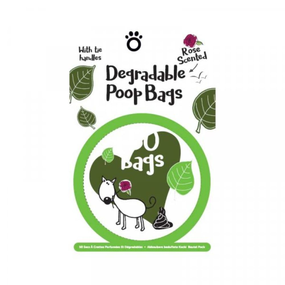 Zoon Degradable Scented Poop Bags (50)