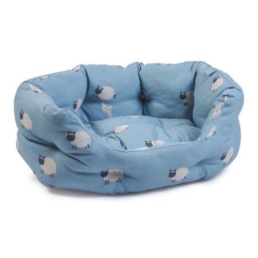 Zoon Counting Sheep Oval Dog Bed - Small