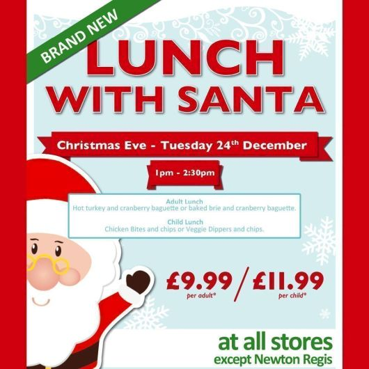 Lunch With Santa 24/12 CGS Child
